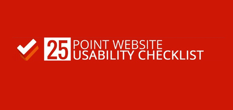 Is Your Website User Friendly? A 25 Point Website Usability Checklist [Infographic]