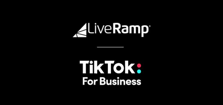 <b>TikTok</b> Announces New Partnership with LiveRamp to Help Advertisers Better Target their ... thumbnail