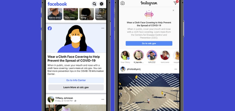 Facebook Adds New Prompts to Urge Mask Use in the US as COVID-19 Cases Continue to Rise