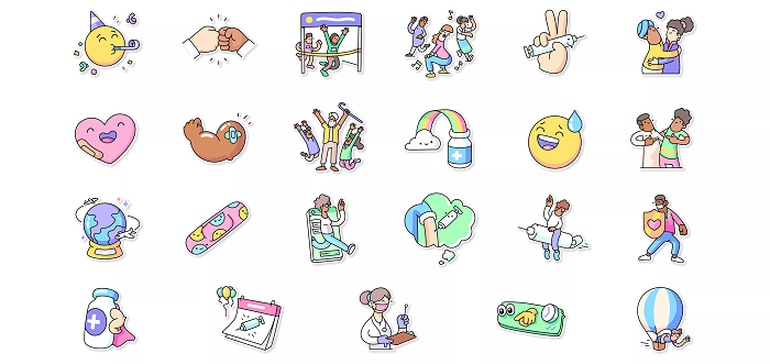 <b>Facebook</b> Launches New Stickers to Encourage Vaccination on Instagram, <b>Facebook</b> and WhatsApp thumbnail