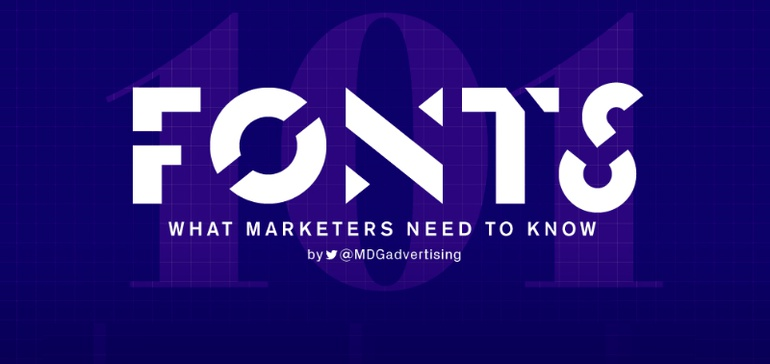 Fonts 101: What Marketers Need to Know [Infographic]