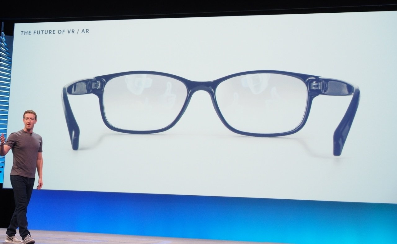 Facebook AR glasses