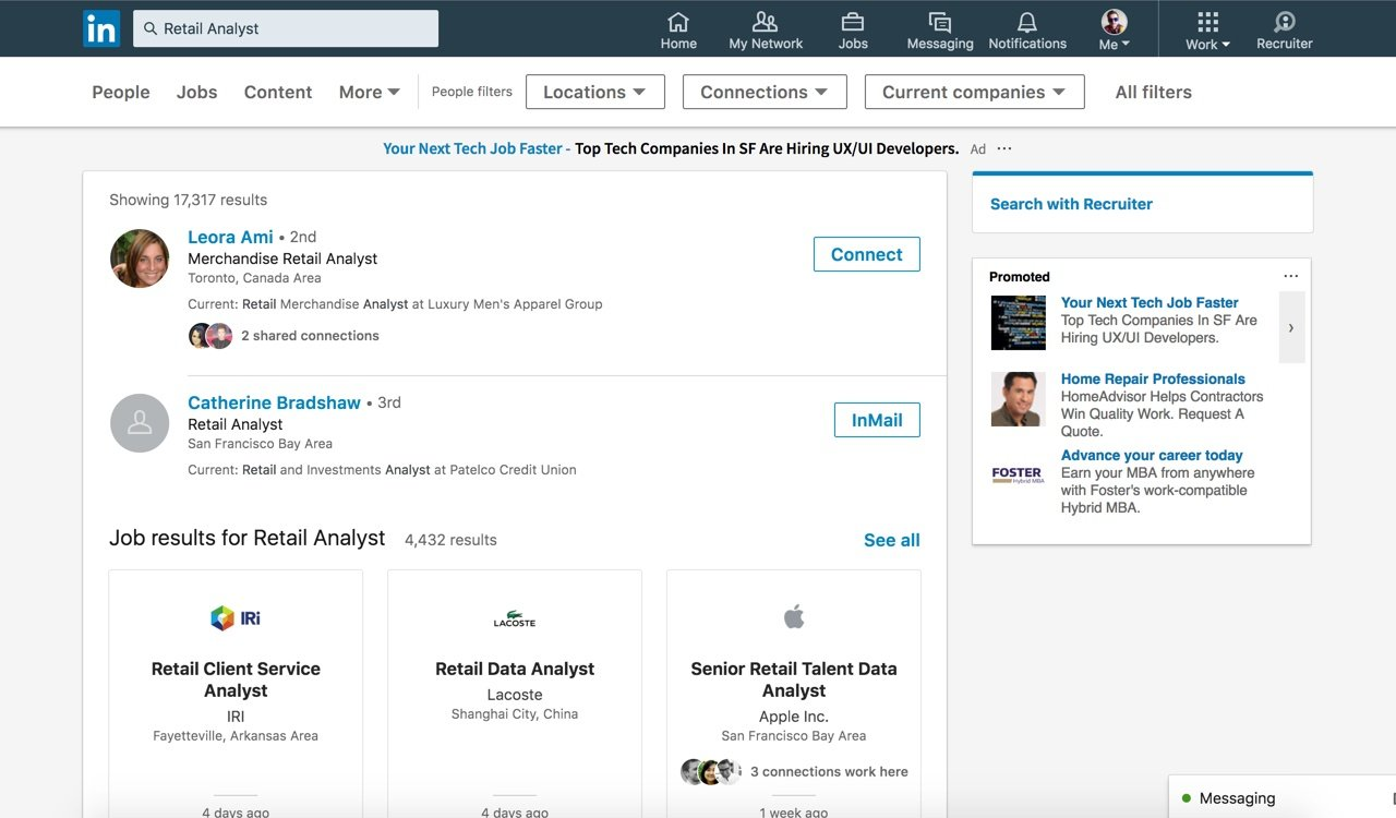 LinkedIn Updates its Search Options with New Results Listings and Improved Layout | Social Media Today