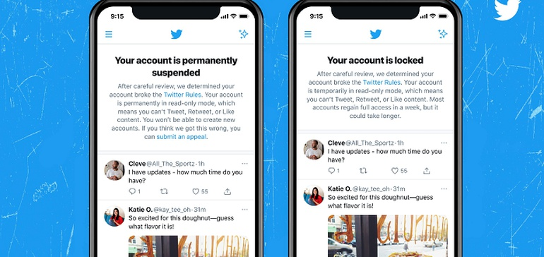 Twitter Tests New Notifications for Locked or Suspended Accounts