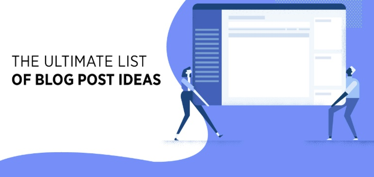 65 Brilliant Blog Post Ideas for a Remarkable Content Marketing Strategy [Infographic]