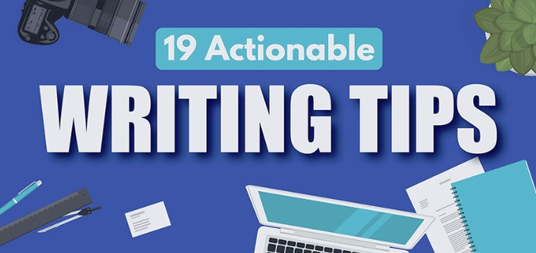 19 Actionable Writing Tips to Improve Your Digital Marketing Strategy [Infographic]