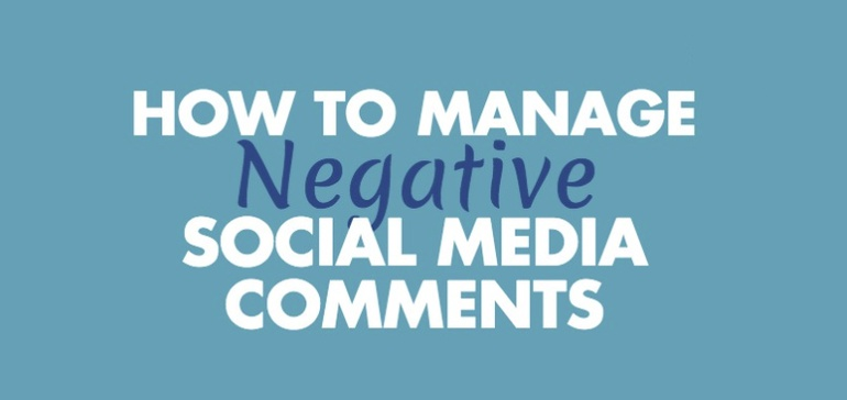 How to Manage Negative Social Media Comments [Infographic]