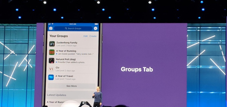 Facebook Announces Groups Tab, Coming Soon to the Main App