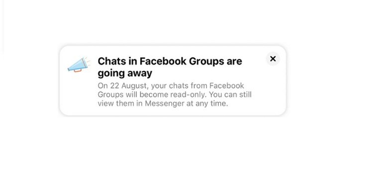 Facebook is Removing its Group Chats Feature to Limit Spammers