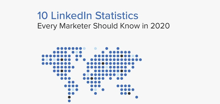 10 LinkedIn Stats to Guide Your Social Media Marketing Strategy in 2020 [Infographic]
