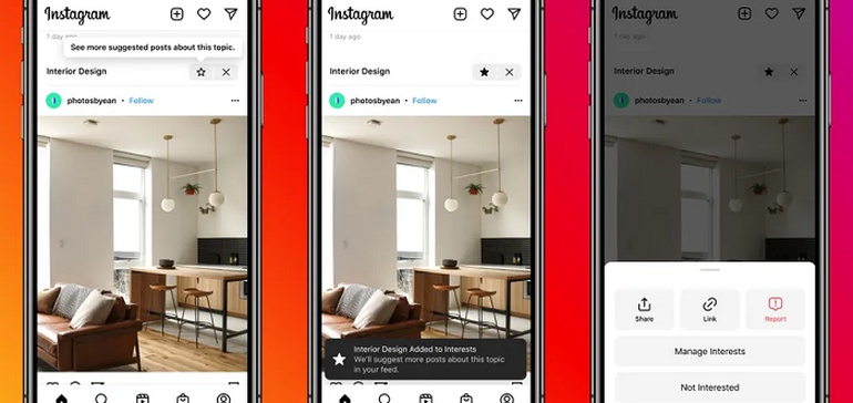Instagram Tests New Content Recommendations Within the Main Feed, Sometimes Above Profiles You Follow - Social Media Today