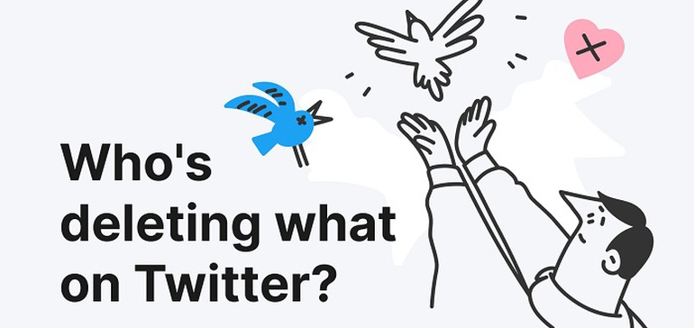 Photo of People Were More Actively Deleting their Past Tweets in 2020, According to New Report [Infographic]