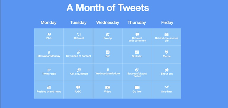 Twitter Provides a Month of Daily Tweet Prompts for Brands thumbnail