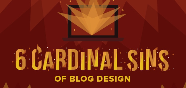 6 Blog Design Mistakes Ruining Your Content Marketing Strategy [Infographic]