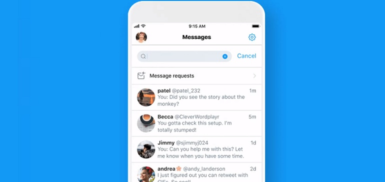 <b>Twitter</b> Launches DM Username Search Tools to Android, Flags Coming Option to Search by ... thumbnail