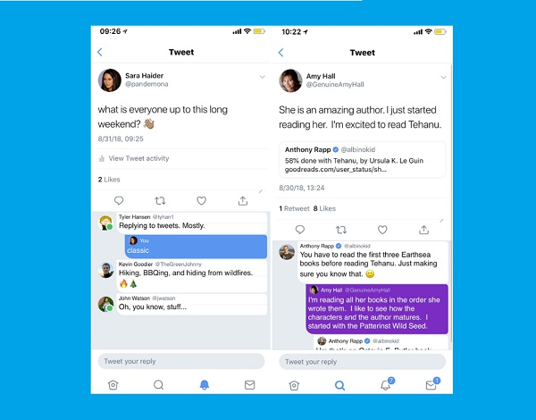 Twitter's Testing a New Layout for Replies, Focused on Improving Engagement                      | Social Media Today