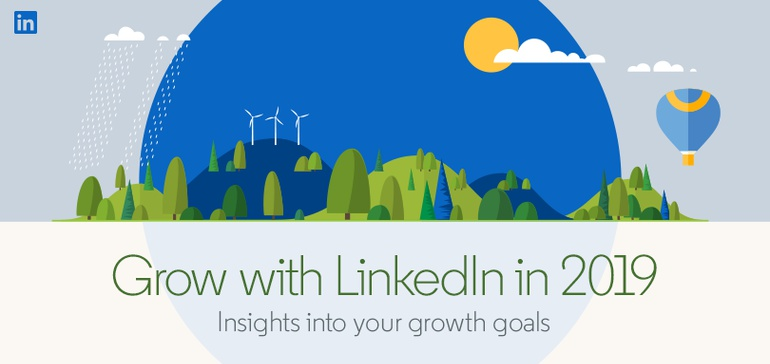 LinkedIn Marketing Priorities in 2019 [Infographic]