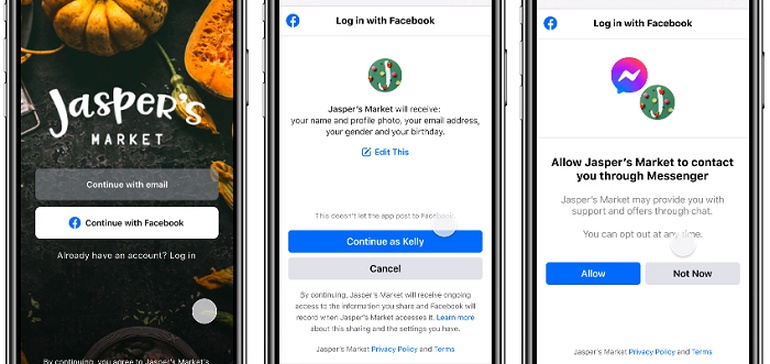 Facebook Adds Login Connect via Messenger to Provide More Direct Connection Options