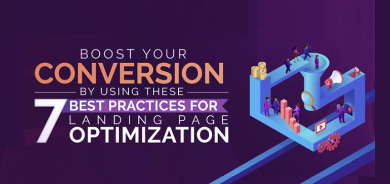 7 Landing Page Best Practices to Improve Your Website Conversion Rate [Infographic]