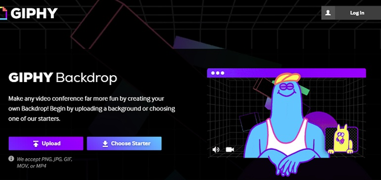 GIPHY Adds Custom Meeting Background Creator for Animated Virtual Meeting Backdrops