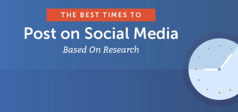 The Best Times to Post on Social Media According to Research [Infographic] thumbnail