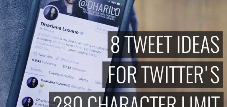 8 Tweet Ideas for Twitter's 280 Character Limit                      | Social Media Today