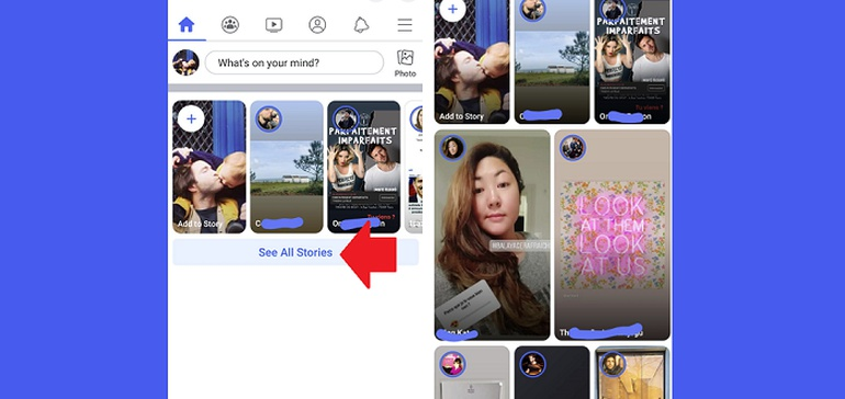 Facebook Tests New Format for Separate Facebook Stories Discovery Page thumbnail