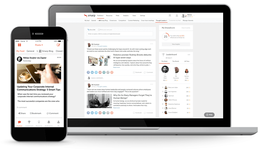5 Internal Content Sharing Tools to Make Your Employees Smarter and More Productive