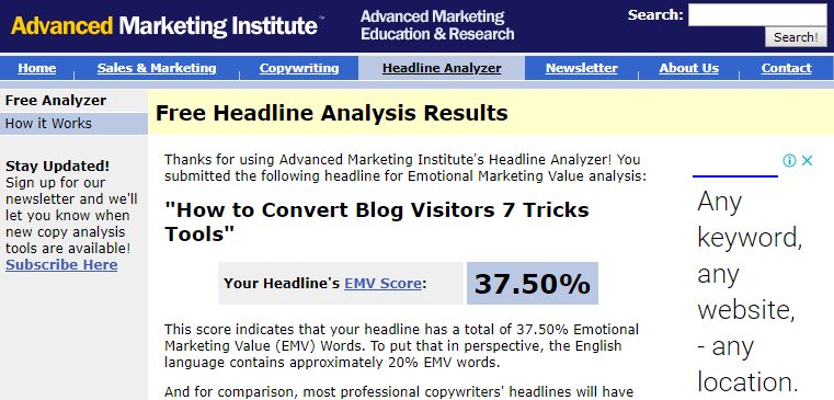 7 Tips on How to Improve Conversion Rates with Your Blog Visitors