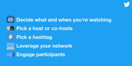 Twitter watch party tips