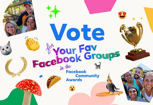 Premios de la comunidad de Facebook