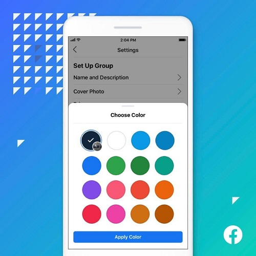 Facebook Adds Extra Color Customizations Choices for Groups