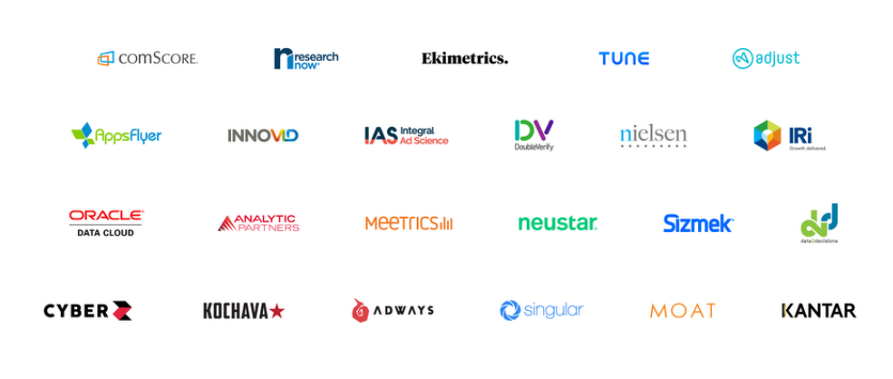 Google Measurement Partner brand logos
