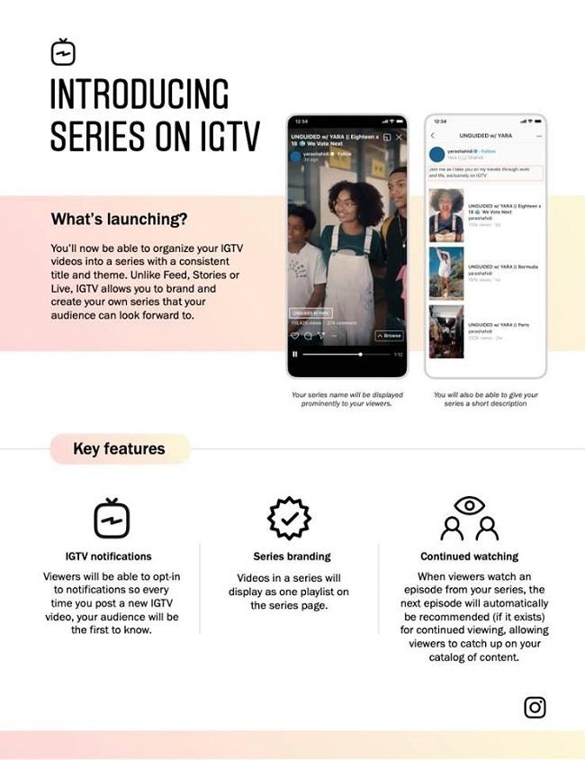 IGTV series