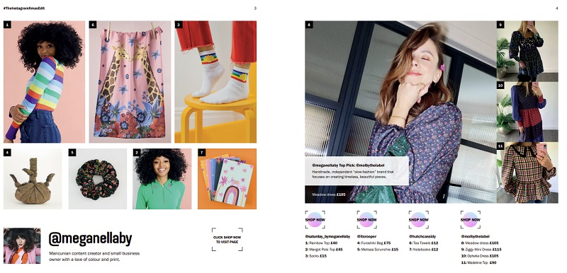 Instagram shoppable catalog