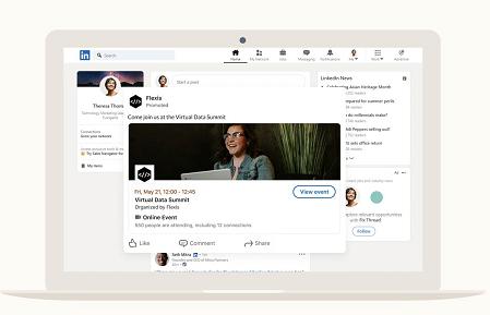 LinkedIn event ads