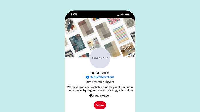 Pinterest Verified Merchant Program