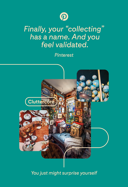 Pinterest 'You May Find Yourself' campaign