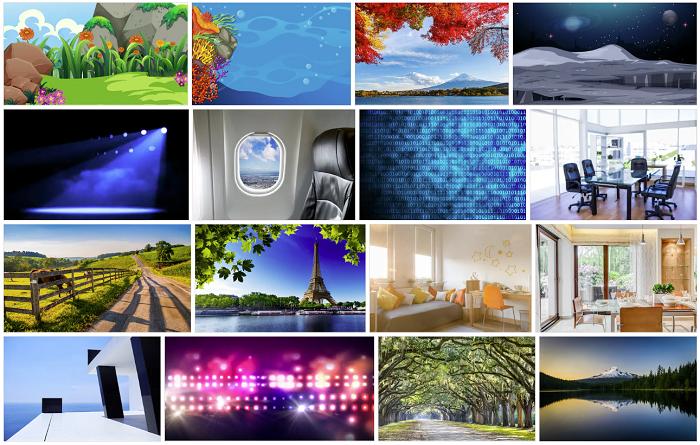 Shutterstock Zoom backgrounds