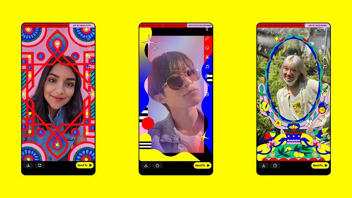 Snapchat API Month Lenses