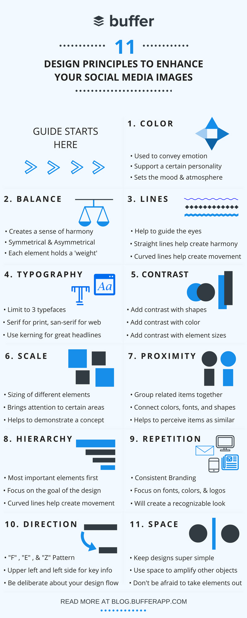 Social Media Design: 11 Principles to Improve Your Social Media Images [Infographic]