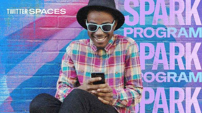 Twitter Spaces Spark header