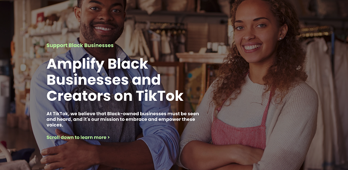 TikTok Black Business Hub