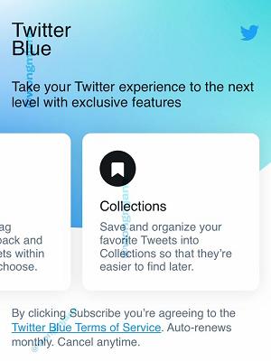 Twitter azul