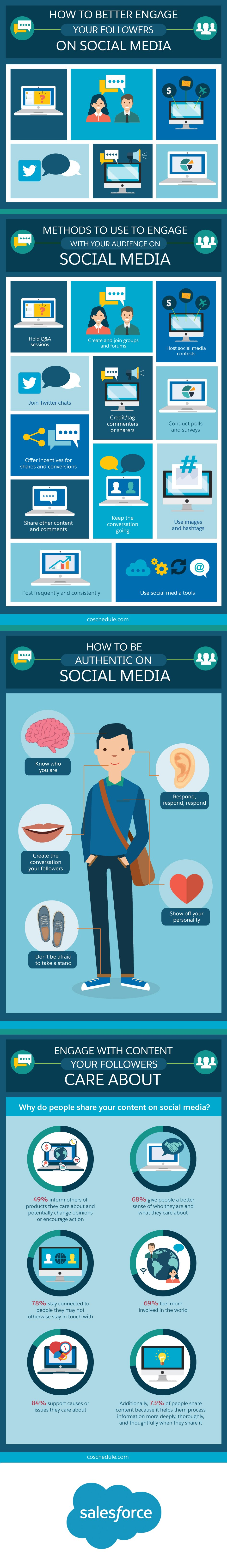 How to Better Engage Your Followers on Social Media [Infographic] | Social Media Today