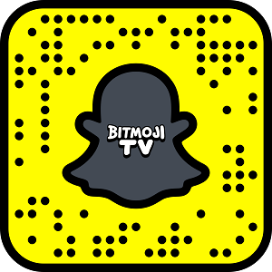 Bitmoji TV Snapcode