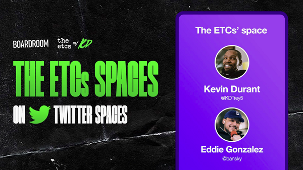 Twitter Space with Kevin Durant