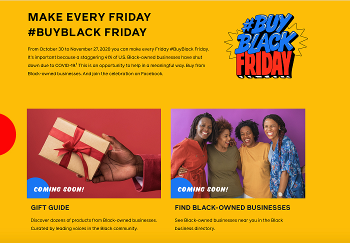 Facebook #BuyBlackFriday