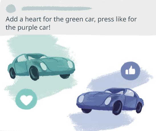 Facebook engagement bait illustration
