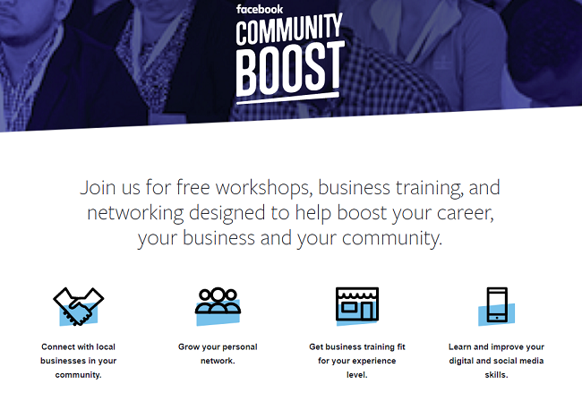 Facebook Adds More Cities to 'Community Boost' Digital Education Tour | Social Media Today